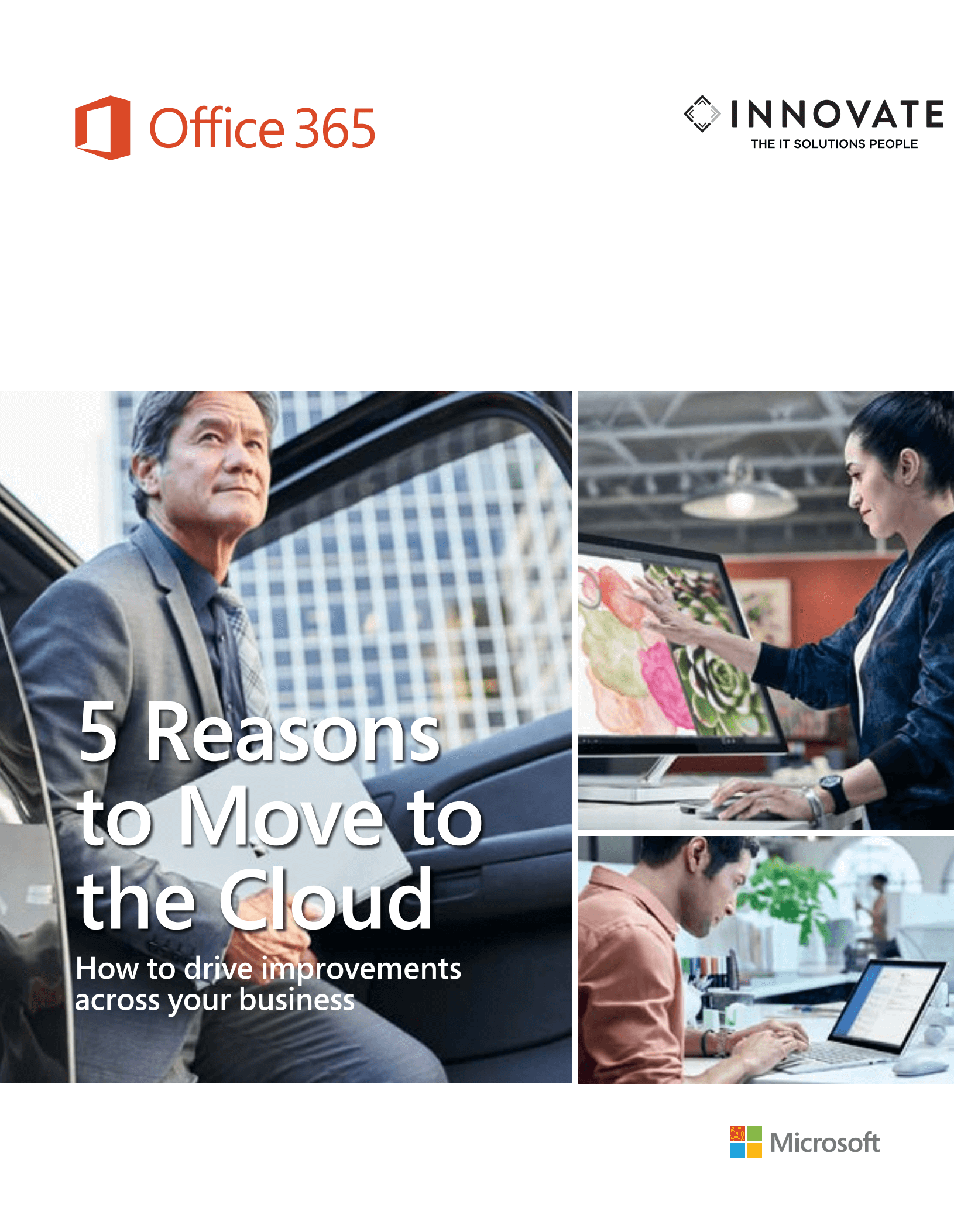 INNOVATE - 5 Reasons to Move To The Cloud.png